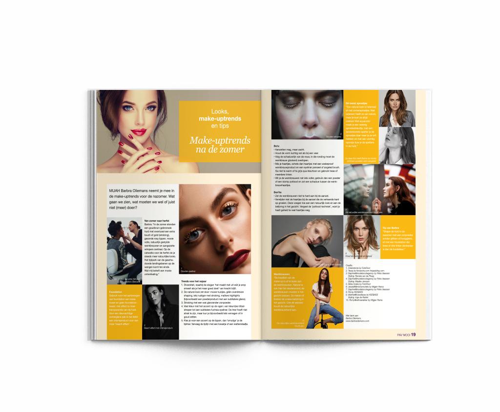 Drukwerk FNV MOOI Lijfstijl magazine
