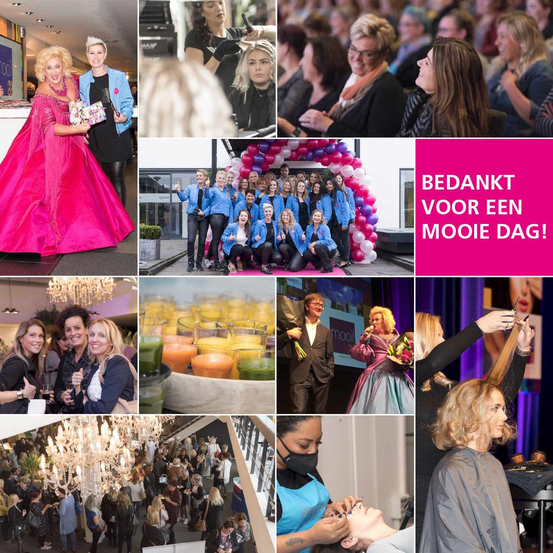 communicatie en fotografie evenement FNV MOOIDag 2017 compilatie foto's