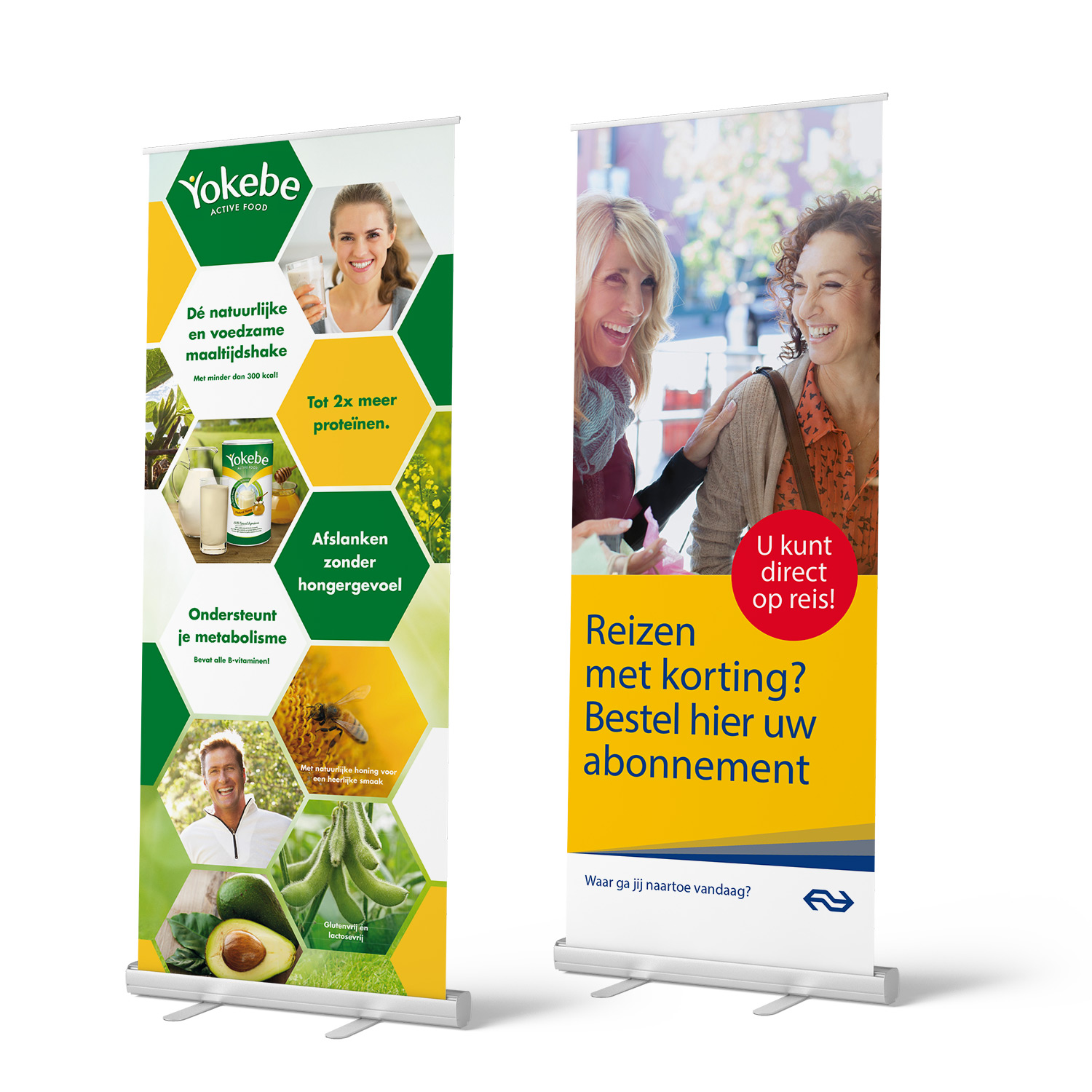 Point-of-Sale roll-up banners