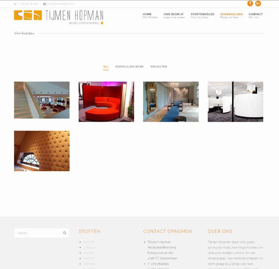 Tijmen Hopman website WordPress websites