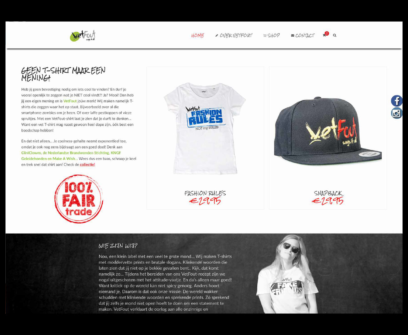 VetFout WordPress websites op maat