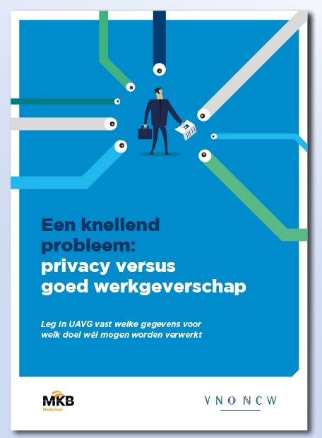 Folder privacy infographics cover
