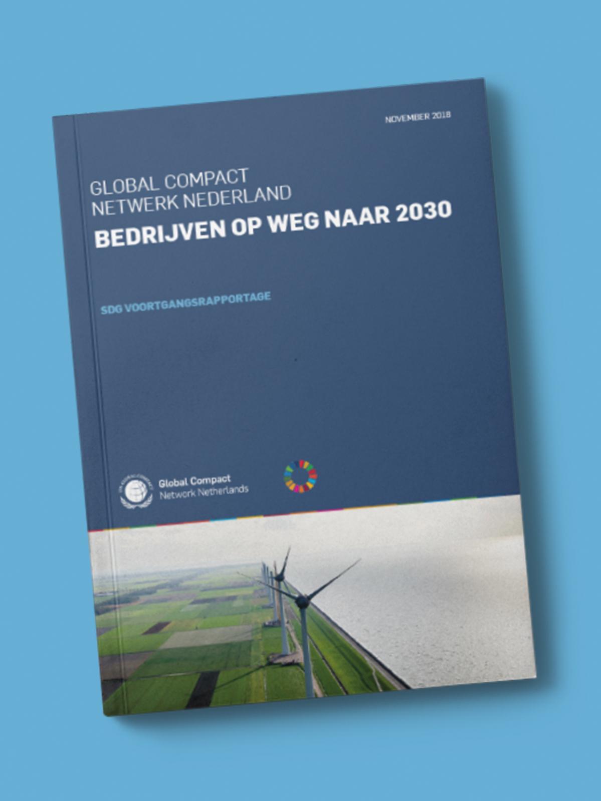 Rapport Bedrijven op weg naar 2030 cover