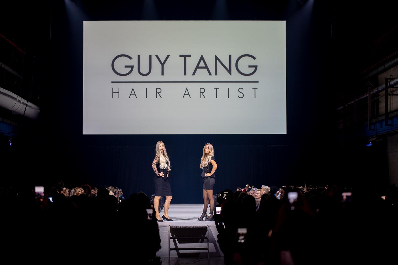 Fotografie event Guy Tang modellen op podium