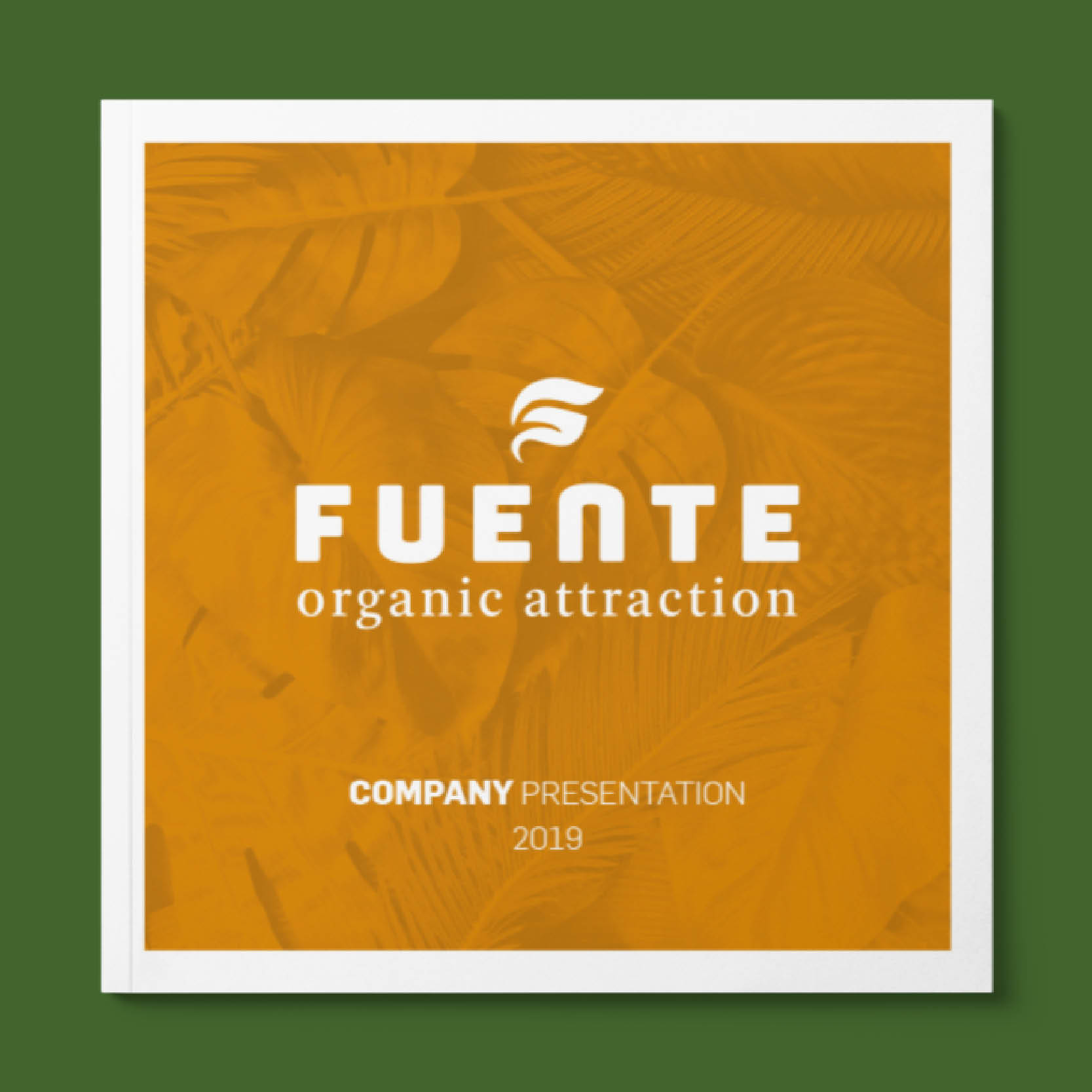 corporate brochure Fuente International