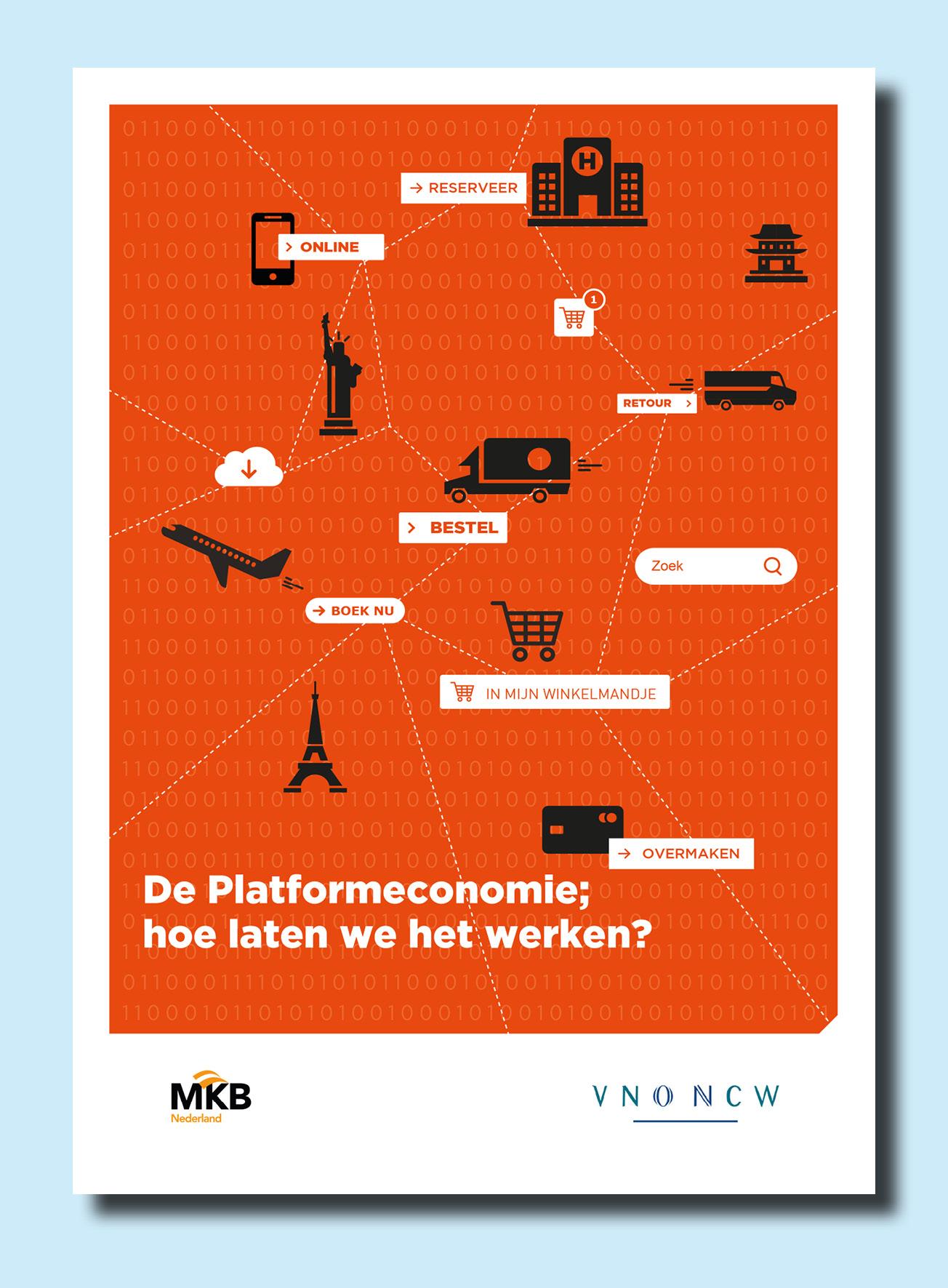 Platformeconomie brochure cover