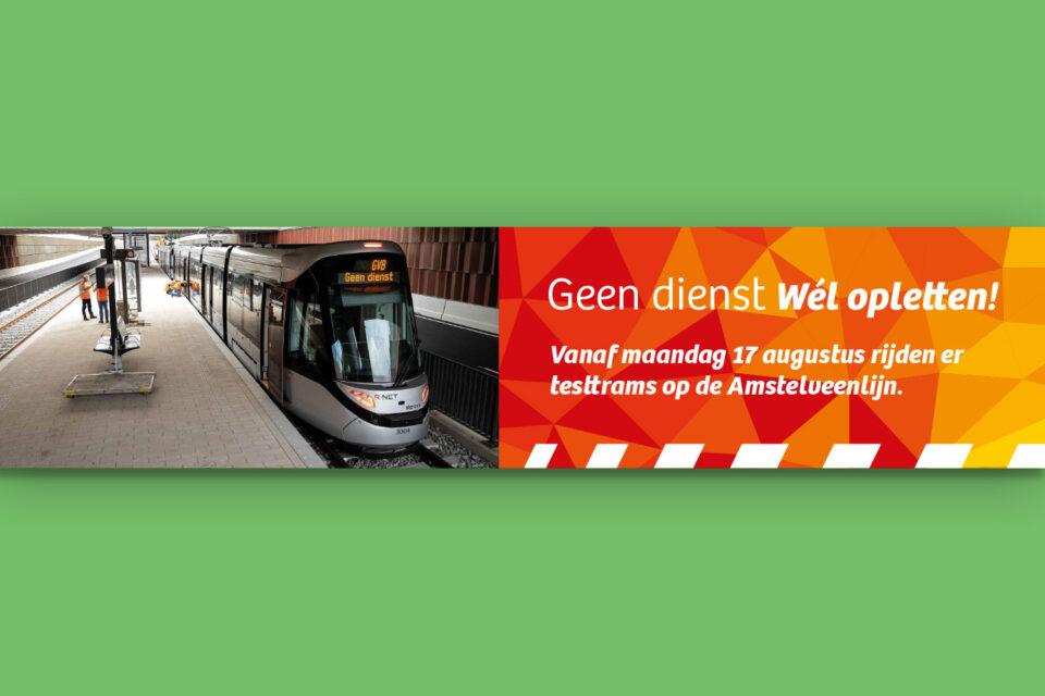 Amstelveenlijn online banner Tramveiligheid