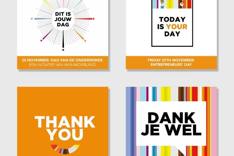 MKB-NL - Dag van de ondernemer - Instagram beelden